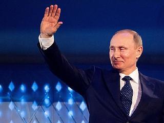 Impresszív: Putyin a voksok 76,65 százalékát szerezte meg