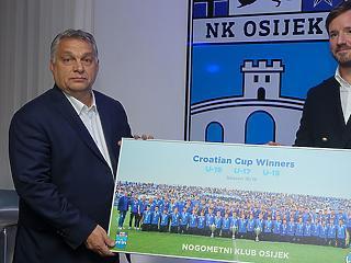 Nem verte nagy dobra: Orbán Mészáros Lőrinc eszéki fociklubjánál járt