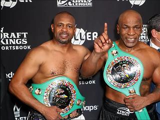 Döntetlen lett a Tyson-Jones Jr. jótékonysági meccs