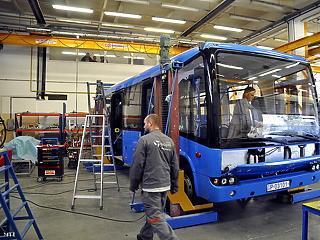 2022-re megduplázná termelését a magyar buszgyártás