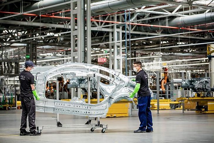 A BIM Design a kecskeméti Mercedes-gyár bővítésében is részt vett (forrás: Mercedes-Benz)