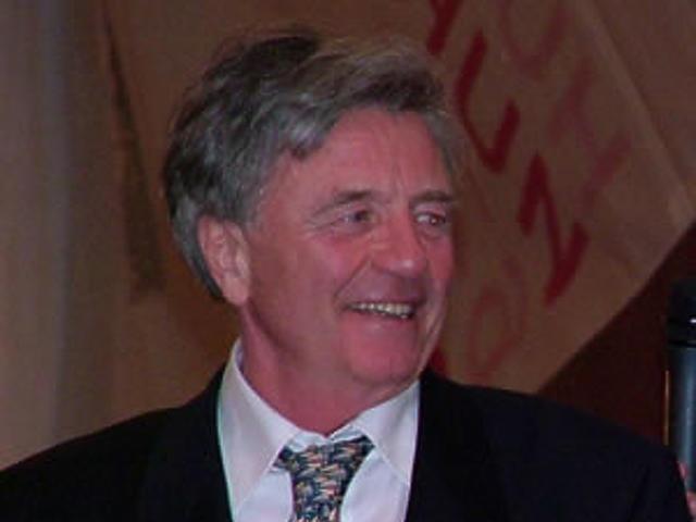Csikós János, a Balaton-kupa egyik díjazottja
