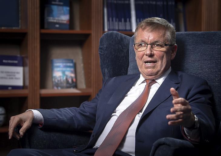 Matolcsy György, az MNB elnöke. Fotó: mti