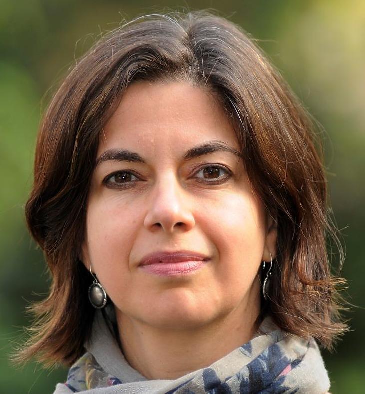 Adler Katalin, a Békés Iskolák program koordinátora. Fotó: mfor.hu