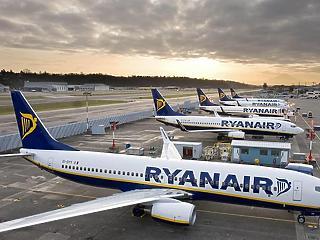 Hiába a sztrájkok, így is forgalmi rekordot ért el tavaly a Ryanair