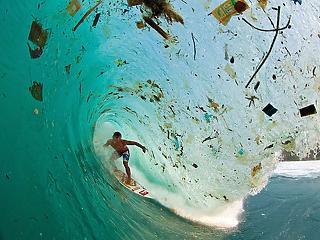 Tengervízben lebomló műanyagot fejlesztettek kínai kutatók