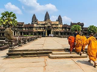 Kambodzsa különös építménye az Angkor Wat