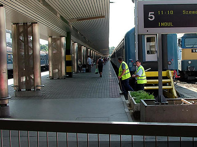 Peronkapuk a Déli pályaudvaron