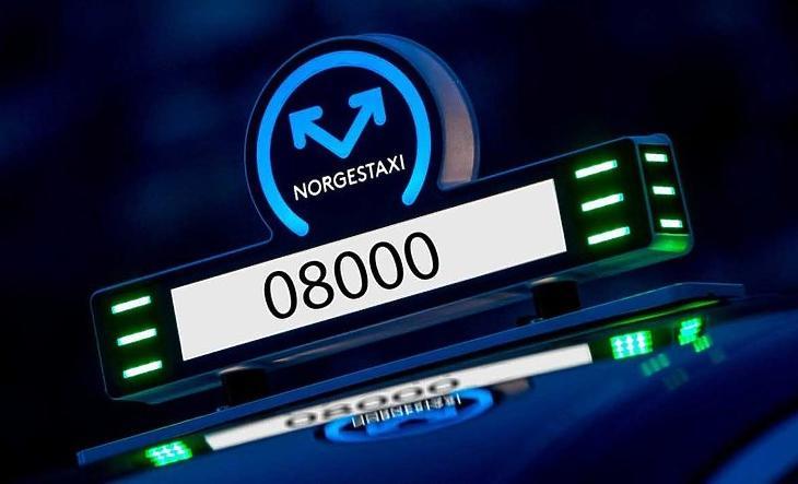 A NorgesTaxi, Norvégia legnagyobb taxiszolgáltatójának logója. (Forrás: NorgesTaxi Facebook)