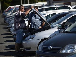 Csúcson pörög a használt autók adásvétele