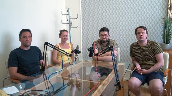 Akik beszélgetnek - Baka Zoltán,Székely Sarolta, Gáspár András,Wéber Balázs