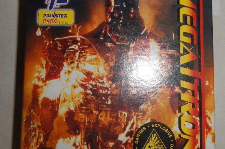 A Flash Banger Megatron tűzijáték. (police.hu)
