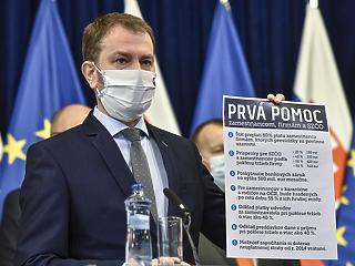 A járvány miatt elbocsátottak fizetésének  80 százalékát állja a szlovák állam