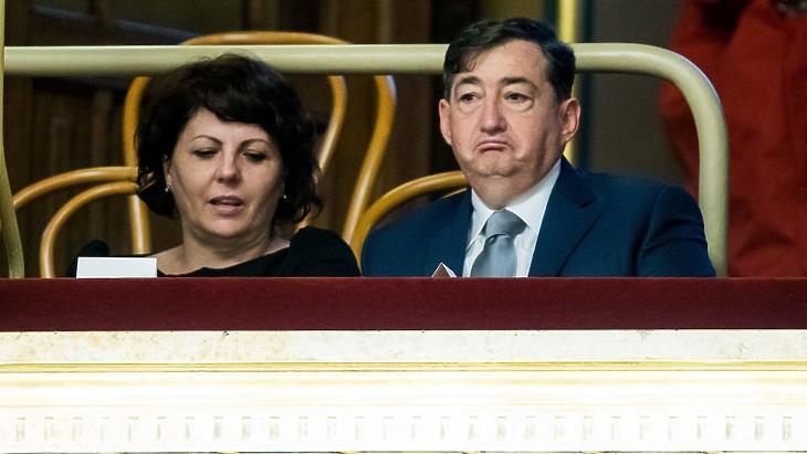 Mészáros Lőrinc és volt felesége, Kelemen Beatrix