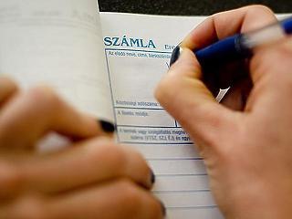 Meglepetés érheti, ha kézzel ír számlát