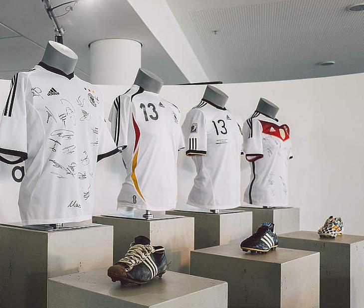 A német válogatott aranyat ér az Adidasnak (Forrás: DFB)