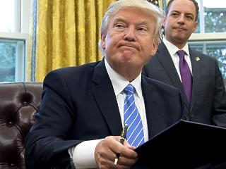 Trump megint keménykedik