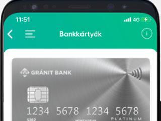 Elindult a Gránit Bank digitális kártyaszolgáltatása