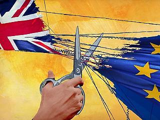 Évi 40 milliárd fontot bukhat London az alku nélküli Brexiten