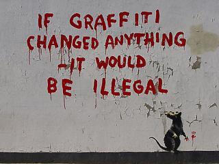 Ki az a Banksy? Hát hogyhogy ki, hát Banksy!