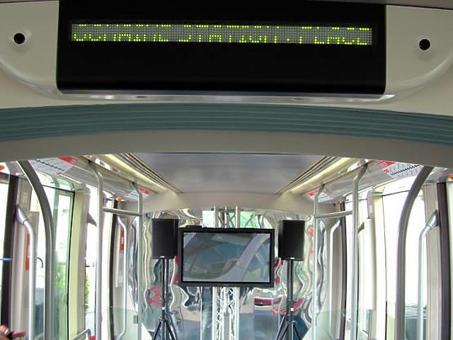 Alstom-villamos a Roosevelt téren
