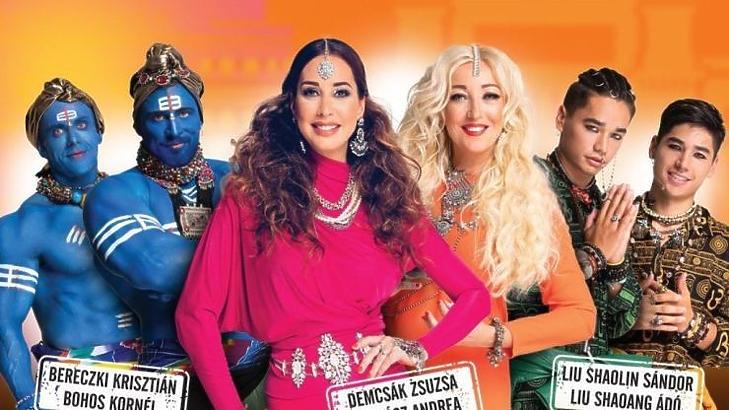 Az Ázsia Expressz a TV2 húzóműsora lett (Fotó: TV2)