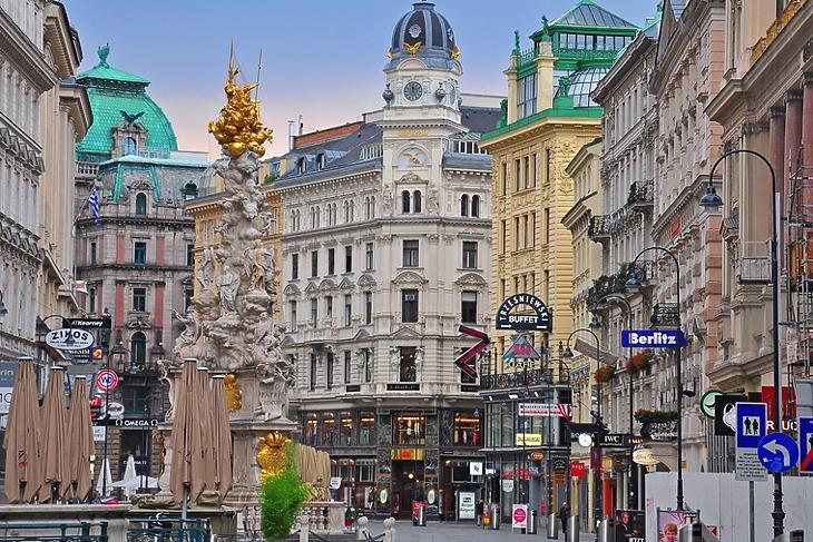 Megint lehet majd shoppingolni Bécs belvárosában. (Forrás: Depositphotos)