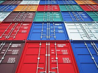 347 millió euró volt a termék-külkereskedelmi többlet áprilisban