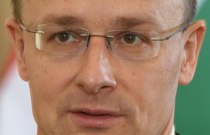 Szijjártó Péter külgazdasági és külügyminiszter - nem Belgrádban, hanem Budapesten, egy korábbi alkalommal. (Fotó: Bánkuti András)