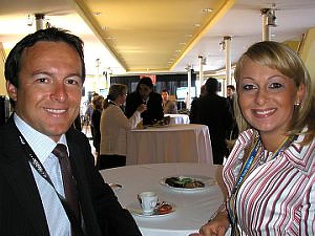 Szittya Tamás (Novell) és Katona Phaedra (TVNET)