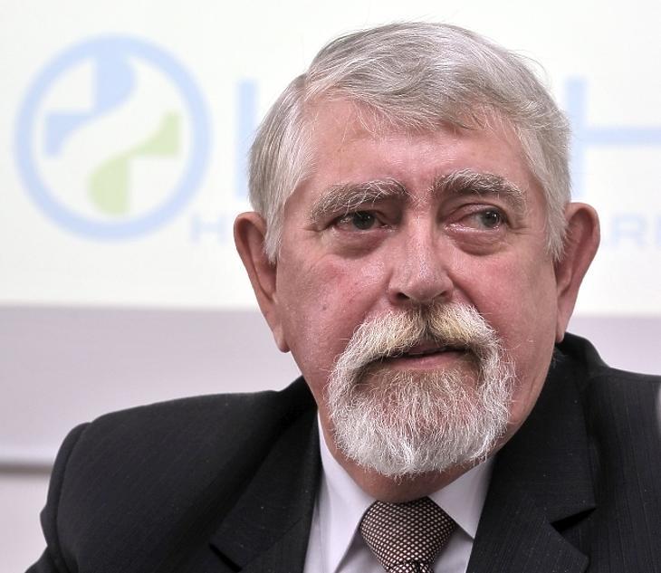 Kásler Miklós, az EMMI minisztere (Fotó: MTI)