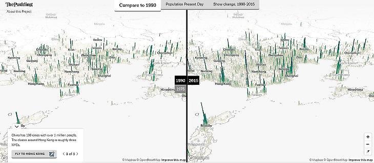 Dél-Kína népességrobbanásának 25 éve