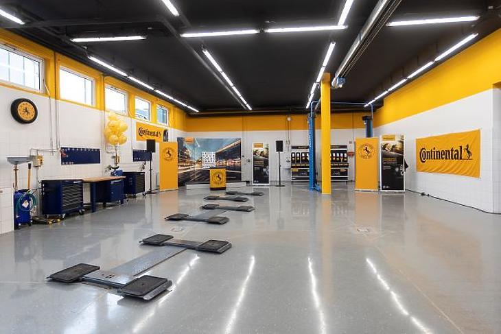 Különleges szolgáltatóközpont. Fotó: Continental