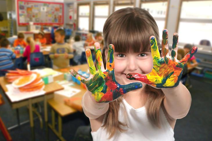 Magyarországon még tele vannak a közoktatási intézmények. Fotó: depositphotos.com