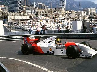 Senna McLarenje 1,3 milliárd forintért kelt el