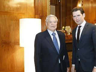 Soros és Kurz már a CEU Bécsbe költözéséről tárgyalt