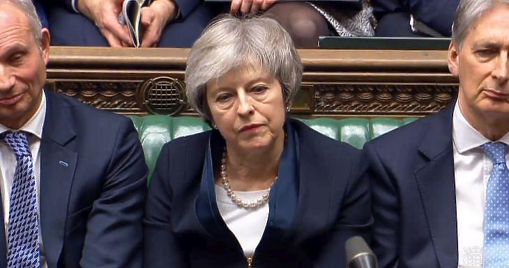 Theresa May. Forrás: brit parlament