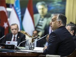 Orbán újabb keleti nyitásról beszélt Kirgizisztánban