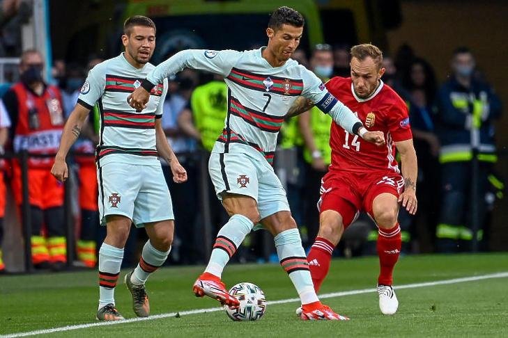 Eddig a magyar-portugál volt a legnézettebb meccs (MTI fotó - Kovács Tamás)
