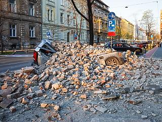 Horvátországi földrengés:  halálos áldozat is van, evakuálják a betegeket