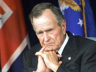 Portré George Bushról, akire rászakadt egy szuperhatalom vezető szerepe