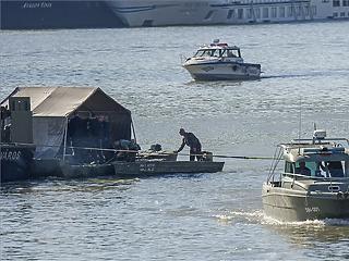 Megvan a bomba, de ma már nem lesz forgalomkorlátozás az Erzsébet-hídnál