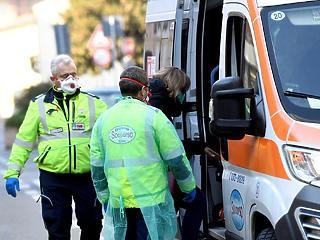 A koronavírus 133 további áldozatot szedett Olaszországban