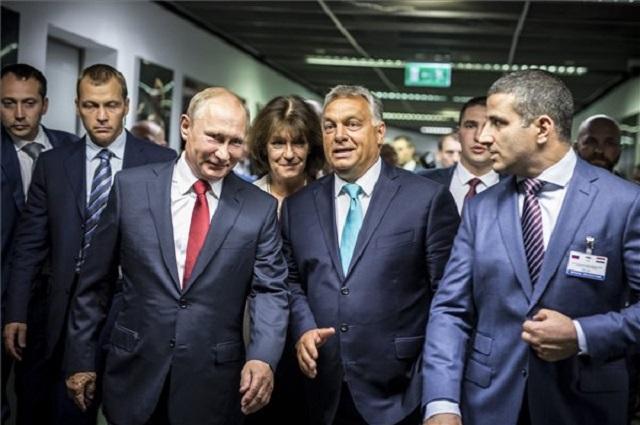 Orbán Viktor és Vlagyimir Putyin (fotó: MTI)